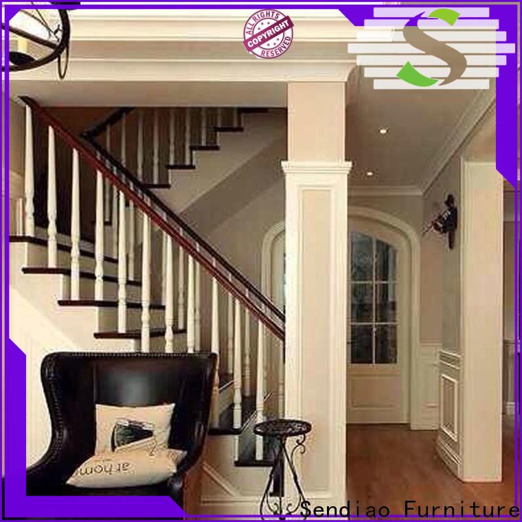 Sendiao Furniture New hardwood stairs Supply bedroom