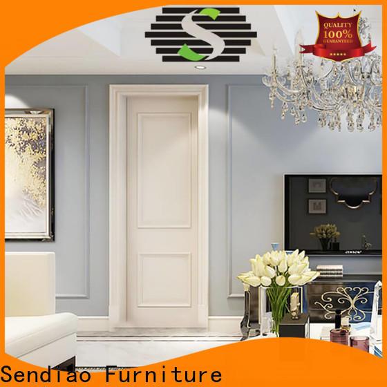Sendiao Furniture wooden solid wood interior doors manufacturers fivestar hotel