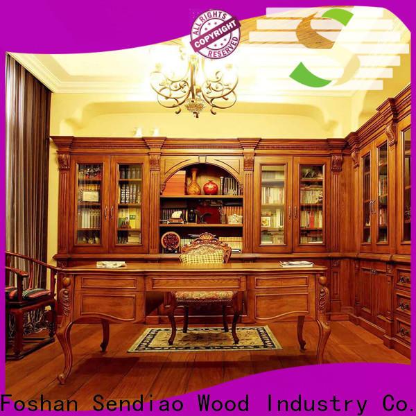 New wooden bookcase super company exhibition hall