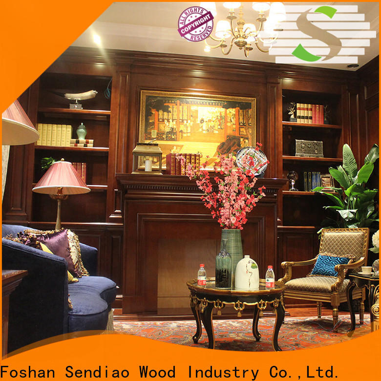 Sendiao Furniture chinese decorative wooden cabinet for business three-star hotel