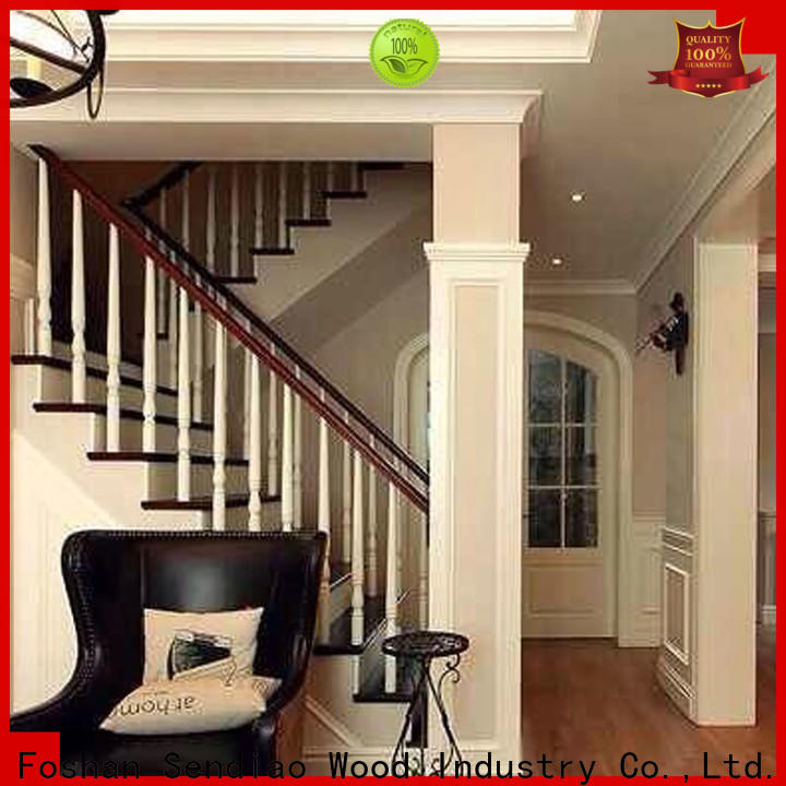 Sendiao Furniture High-quality wooden staircase factory four-star hotel