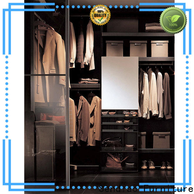 Sendiao Furniture New wooden clothes wardrobe manufacturers bedroom