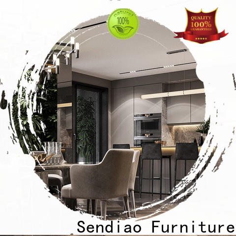Sendiao Furniture Best real wood kitchen cabinets Suppliers chateau