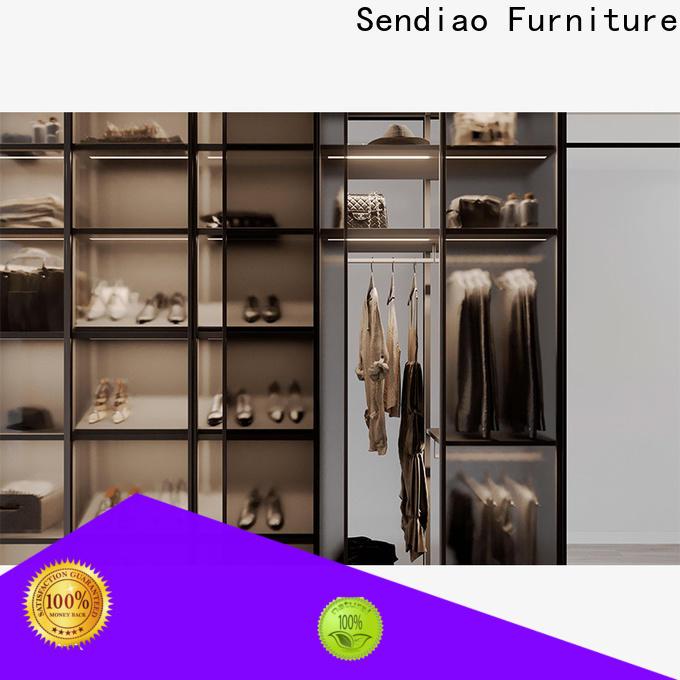 Sendiao Furniture wardrobe wooden wardrobe closet factory bedroom