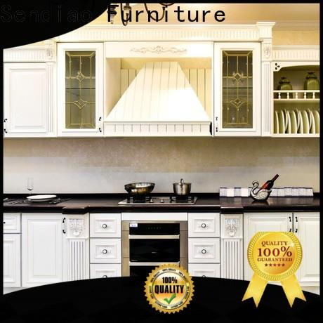 Sendiao Furniture Wholesale real wood kitchen cabinets manufacturers three-star hotel