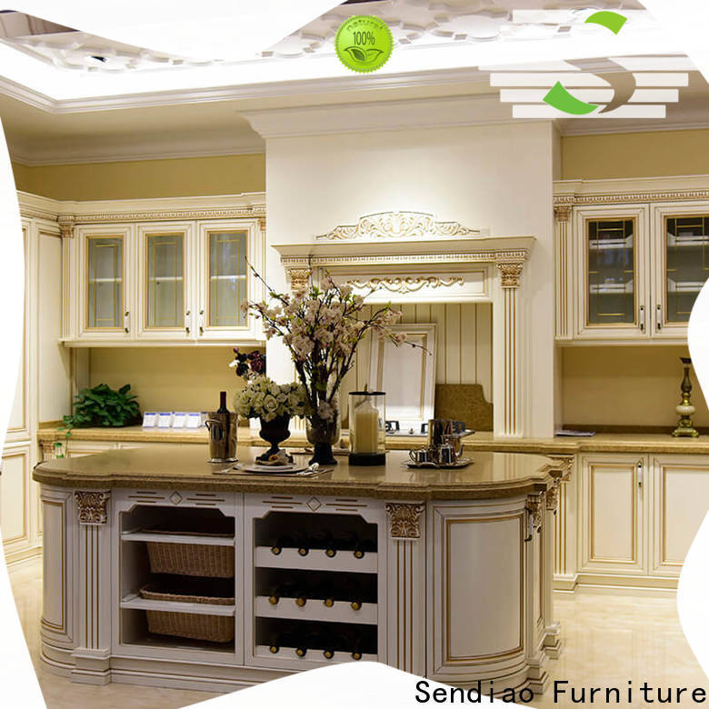 Wholesale wooden kitchen cupboards furniture for business four-star hotel