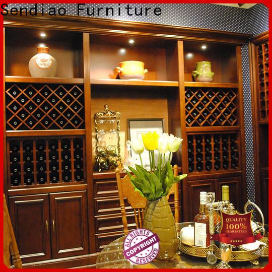 Sendiao Furniture High-quality wood wine cabinet company study