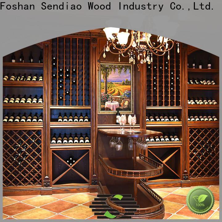 Sendiao Furniture Wholesale bespoke wine cabinet Supply study