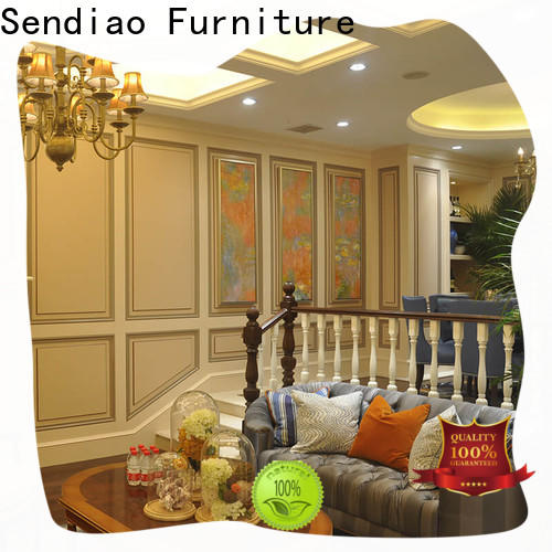 Sendiao Furniture staircase wooden staircases factory chateau