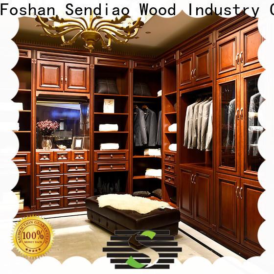 Custom wooden wardrobe luxury company four-star hotel