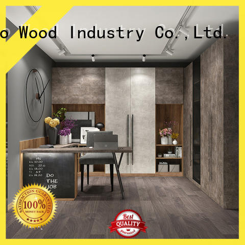 Sendiao Furniture Wholesale solid wood bookcases for business three-star hotel
