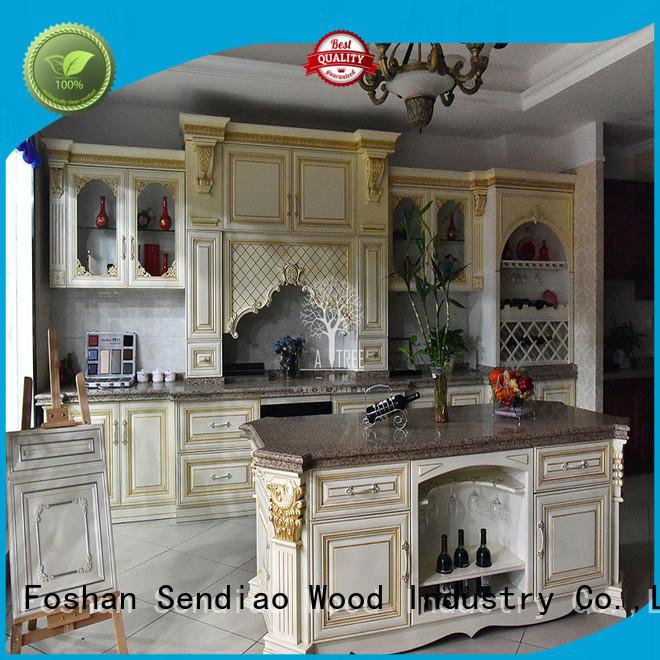 Sendiao Furniture lacquer custom kitchen cabinets Supply chateau