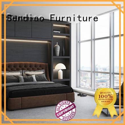 Sendiao Furniture New wooden clothes wardrobe company three-star hotel