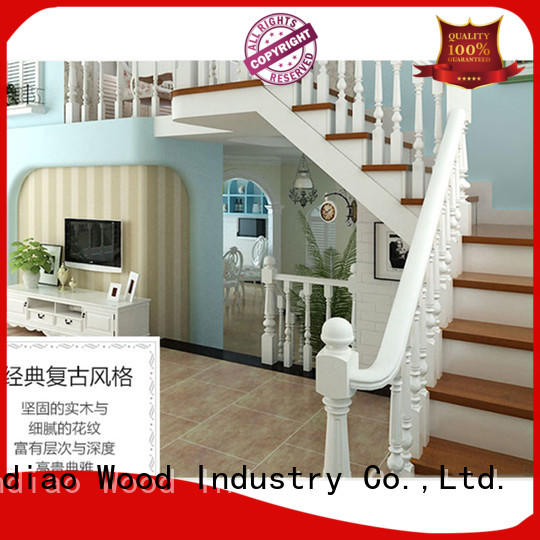 modern wooden staircase designs sds03 Four Star Hotel Sendiao Furniture
