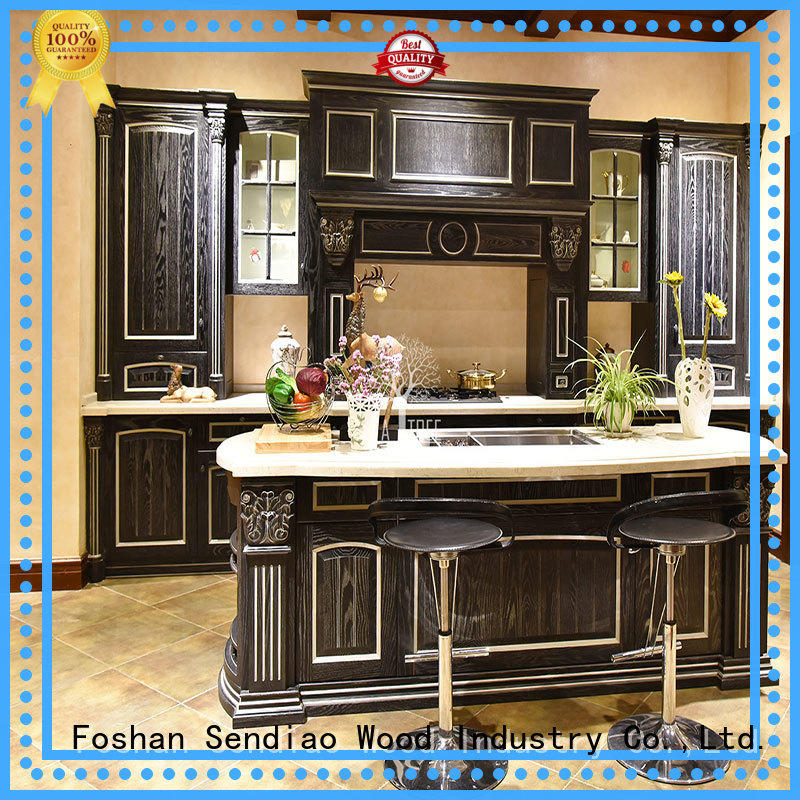 The latest generation custom wood kitchen cabinets lacquer for business study