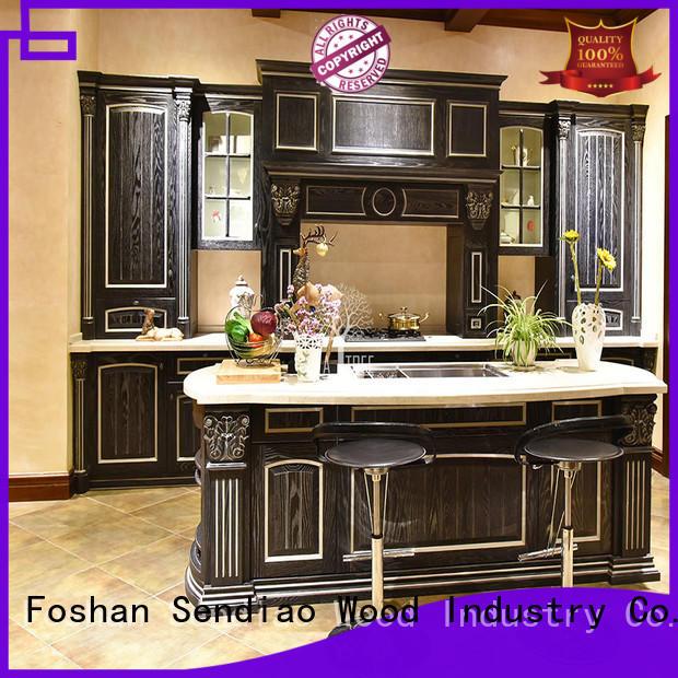 wooden cupboard design luxury Exhibition hall Sendiao Furniture