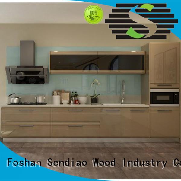 Sendiao Furniture sdk03 modular kitchen cabinets Promotion Exhibition hall