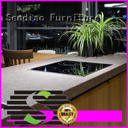 Sendiao Furniture sdk09 hardwood kitchen cabinets suppliers four-star hotel