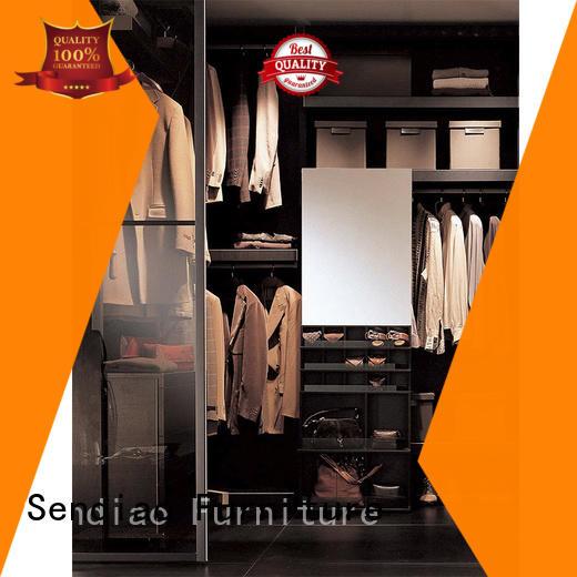 Sendiao Furniture Custom wooden wardrobe Suppliers three-star hotel
