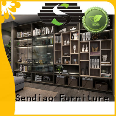 Sendiao Furniture Best bespoke bookcases Supply four-star hotel
