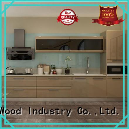Sendiao Furniture Custom wooden kitchen cupboards factory exhibition hall