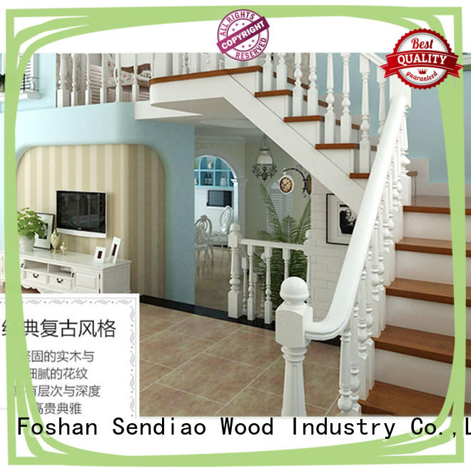 sds01 wooden spiral staircase The latest generation Bedroom