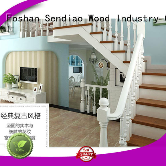 Sendiao Furniture low price wooden staircases factory bedroom