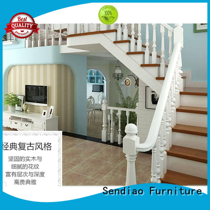 Sendiao Furniture elegance wooden spiral staircase wood Study