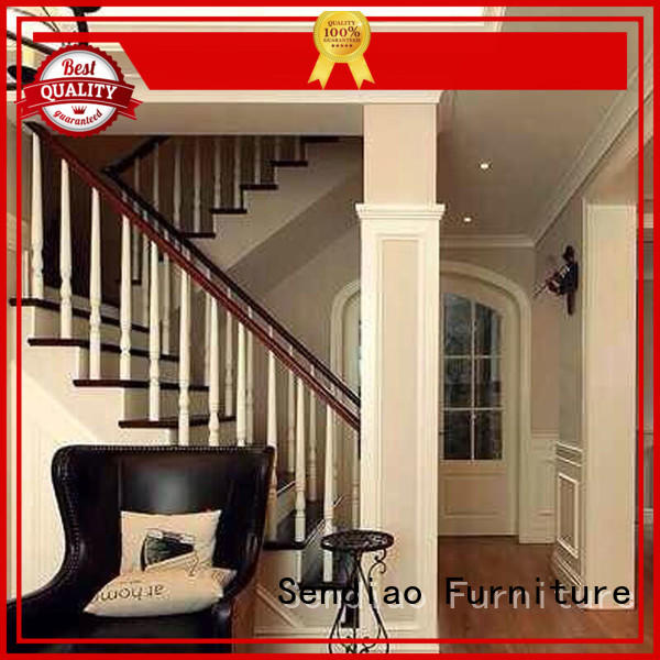 accessories modern wooden staircase designs solid Chateau Sendiao Furniture