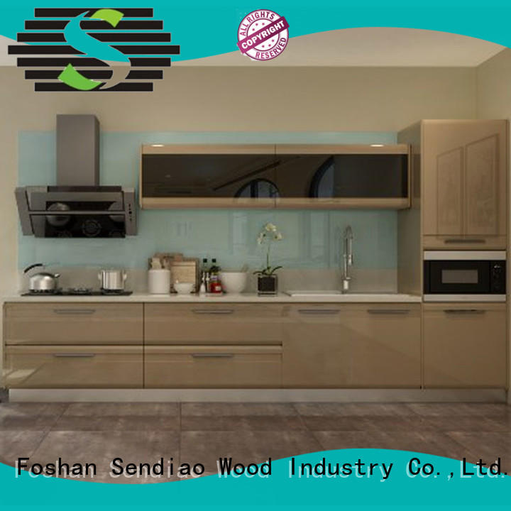 low price custom kitchen cabinet manufacturers New products Bedroom Sendiao Furniture