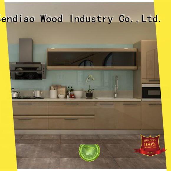 sdk09 best kitchen cabinets Promotion Three-star Hotel Sendiao Furniture