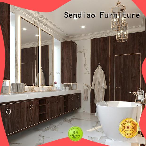 Sendiao Furniture wardrobe wooden wardrobe closet company four-star hotel