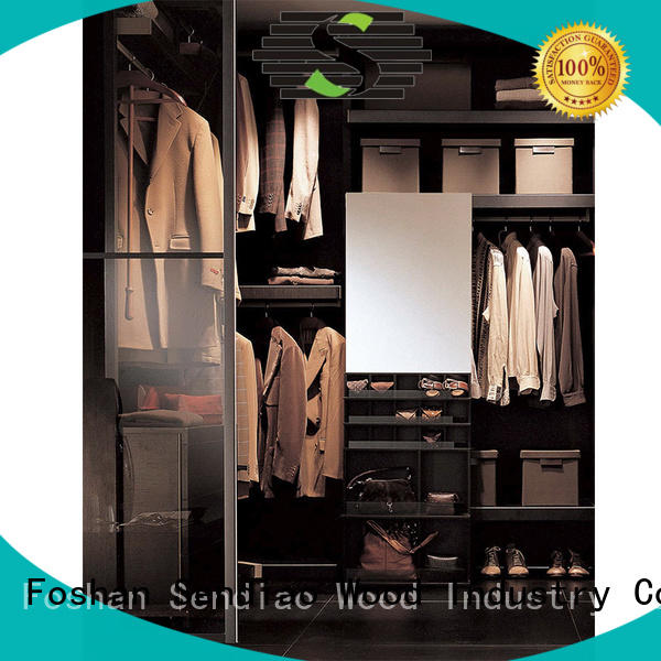 Sendiao Furniture Latest wooden wardrobe closet for business bedroom