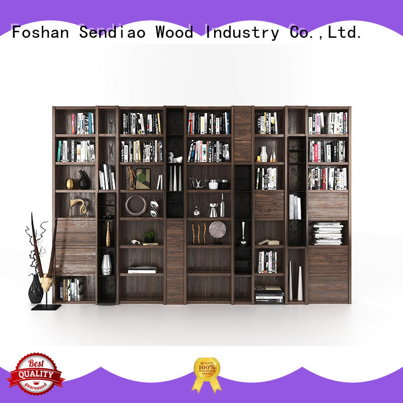 New products solid wood bookcases handcarved elegance A living room