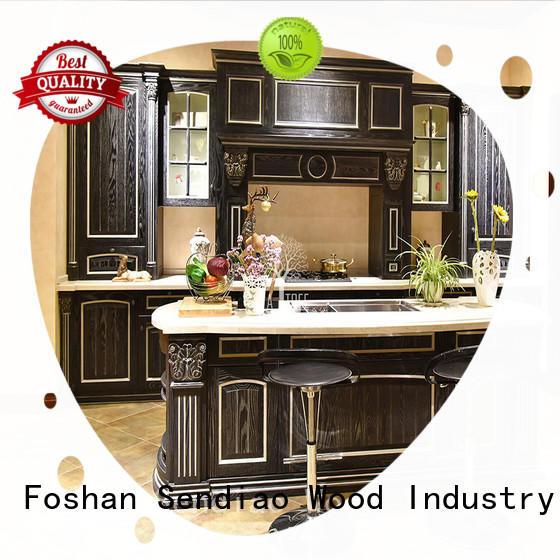 solid wood cupboard sdk02 Bedroom Sendiao Furniture