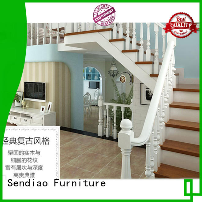 sds03 bespoke wooden staircases New products Study Sendiao Furniture