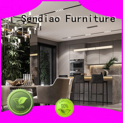 Sendiao Furniture Latest bespoke kitchen cabinet factory exhibition hall