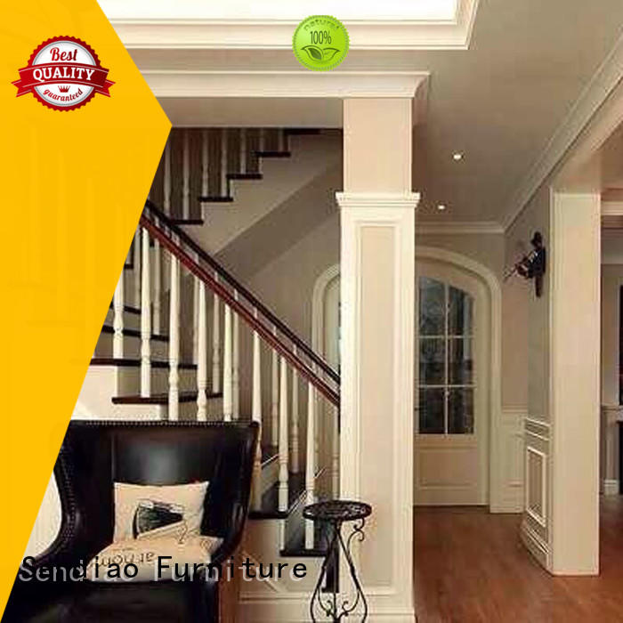 solid bespoke staircases The latest generation Bedroom Sendiao Furniture