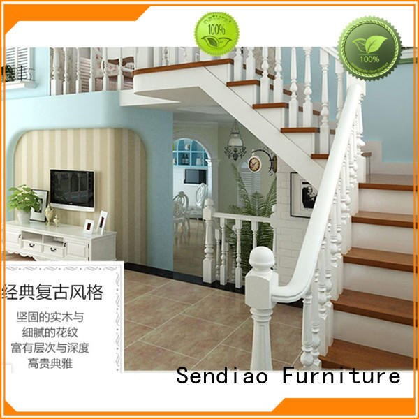 low price wooden staircases wood for business three-star hotel