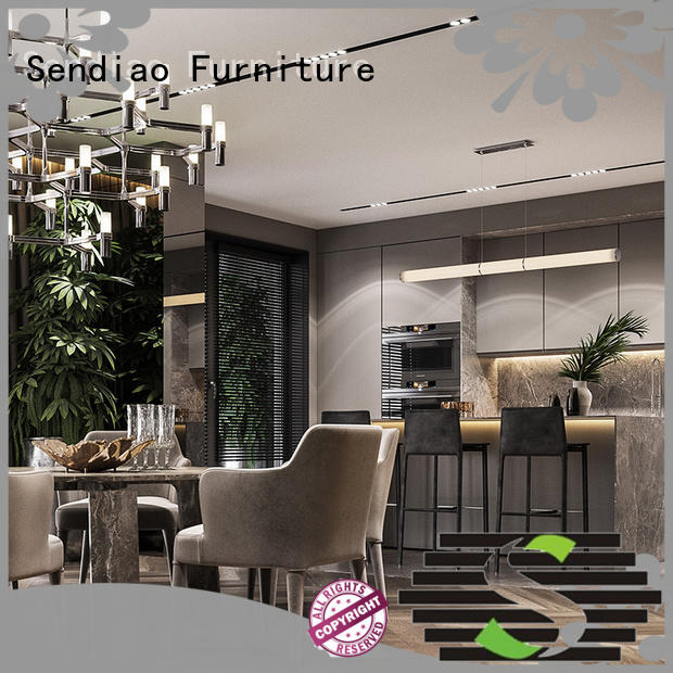 sdk06 wooden kitchen cupboards classical Four Star Hotel