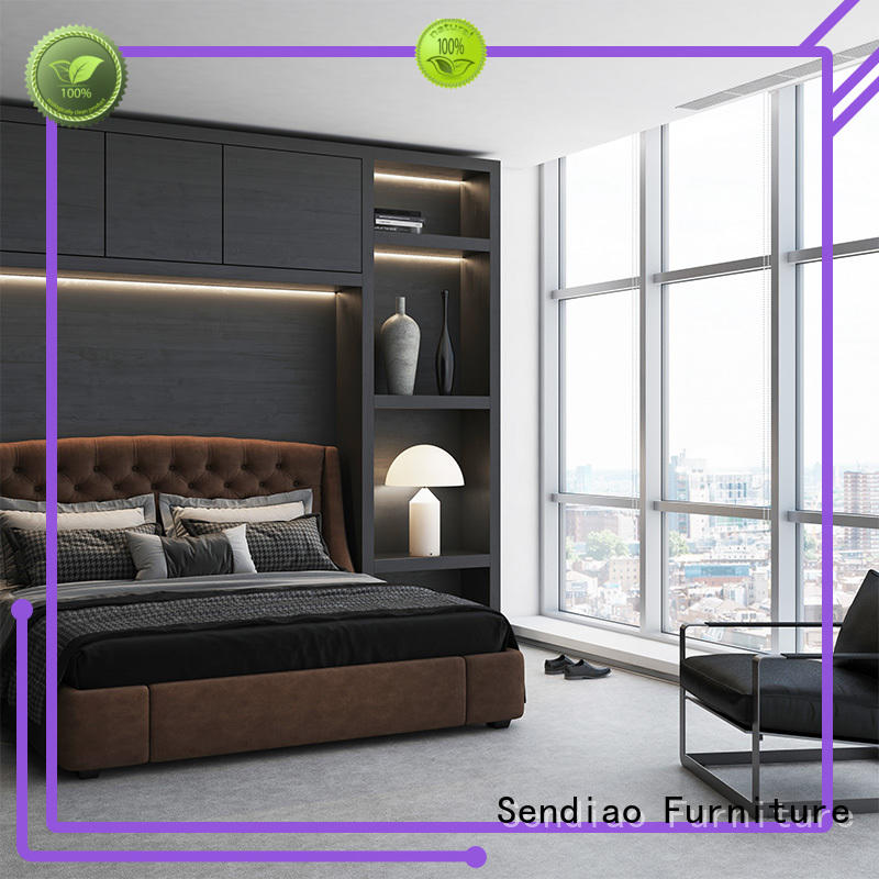 Sendiao Furniture Wholesale solid wood wardrobes manufacturers chateau
