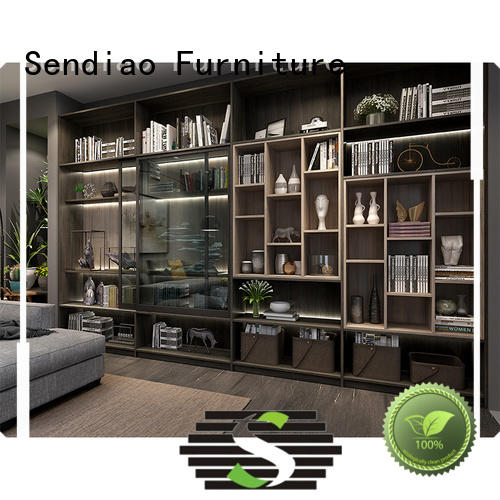 Sendiao Furniture deluxe wooden bookcase Supply a living room