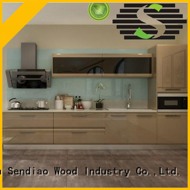 artificial best kitchen cabinets classical Chateau Sendiao Furniture