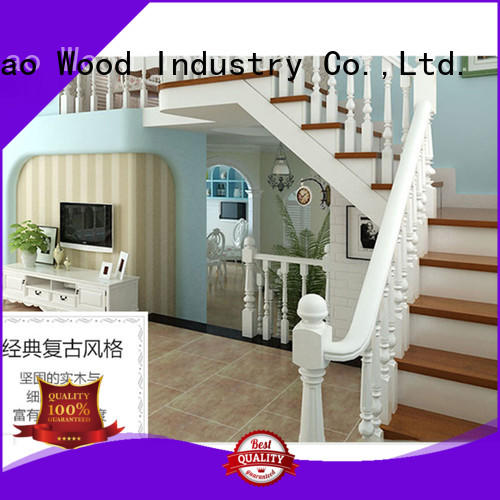Latest wooden spiral staircase wood Supply chateau