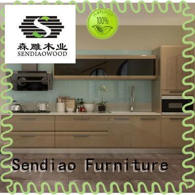 sdk06 custom kitchen cabinet manufacturers low price Chateau Sendiao Furniture