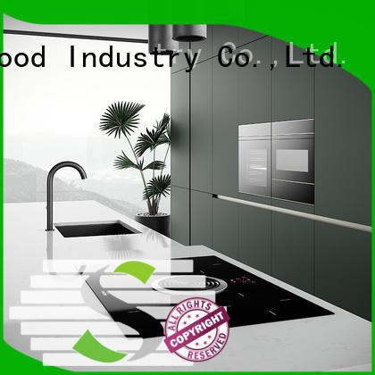 Sendiao Furniture Simplicity solid wood kitchen cupboards factory bedroom