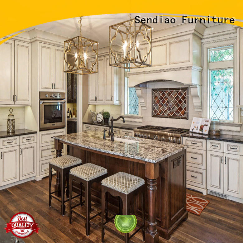 low price custom kitchen cabinet manufacturers low price Exhibition hall Sendiao Furniture