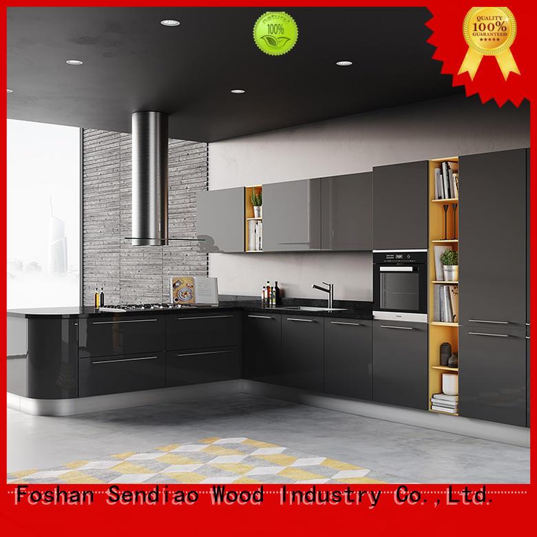 Sendiao Furniture furniture solid wood kitchen cupboards company fivestar hotel