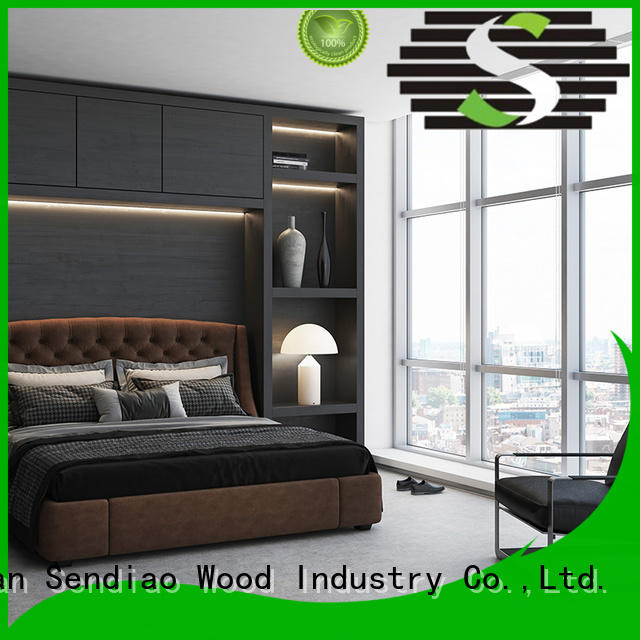 low price wooden clothes wardrobe Simplicity Three-star Hotel