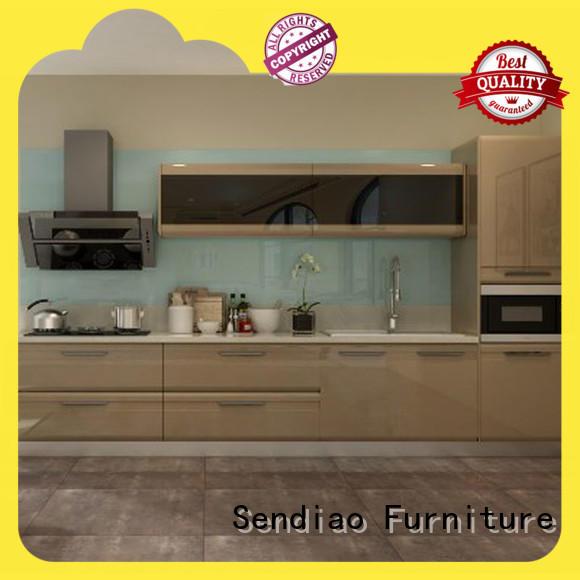 low price wood kitchen cabinets sdk04 Promotion Three-star Hotel